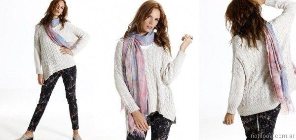 sweater mujer Nuss tejidos invierno 2017