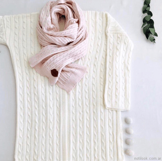 sweater mujer tejidos Millie otoño invierno 2017