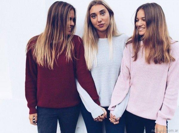 sweater mujer yosi lovers otoño invierno 2017
