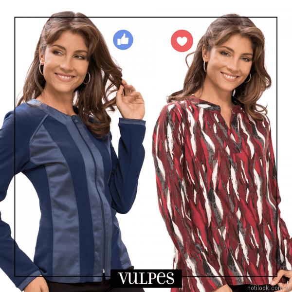 blusas estampadas en talles reales vulpes otoño invierno 2017