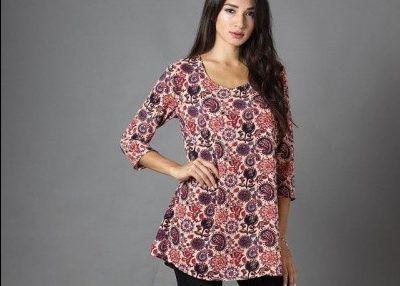 blusas largas Destino Collection otoño invierno 2017
