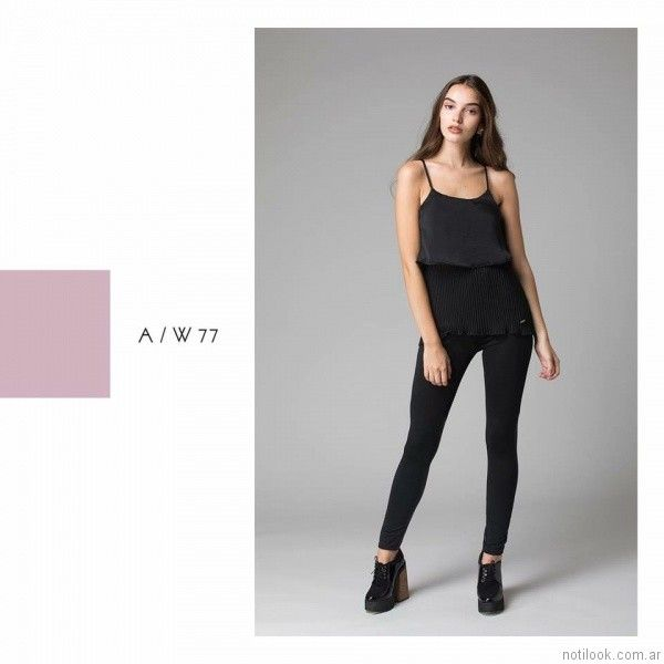 calzas Abstracta otoño invierno 2017