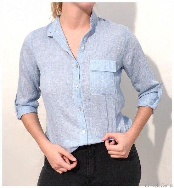 camisas para mujer Ribka otoño invierno 2017