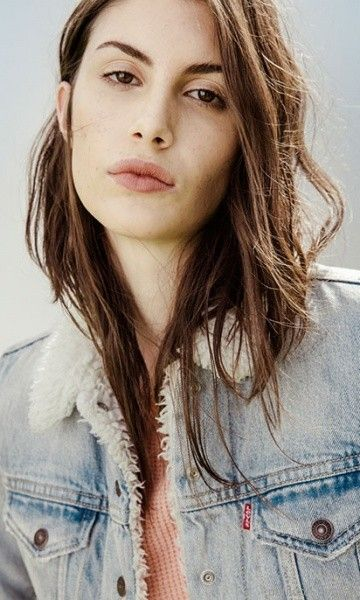 campera de jeans con corderito mujer Levis invierno 2017