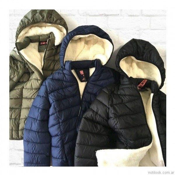 Camperas de abrigo ver