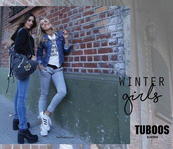 chaquetas juveniles Tuboos otoño invierno 2017