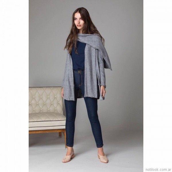 chupin de jeans Abstracta otoño invierno 2017