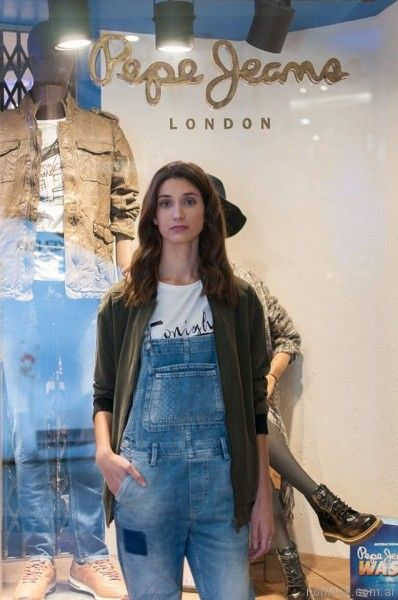 enterito de jeans Pepe Jeans piel sintetica invierno 2017