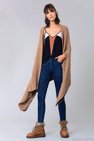 jeans chupin Delaostia otoño invierno 2017