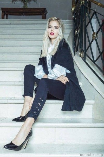 pantalon con detalle en cordon Scottkaen Jeans invierno 2017