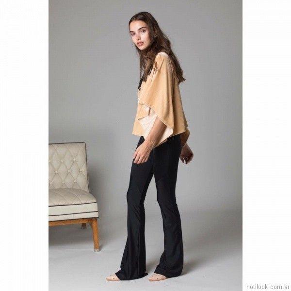 pantalon en seda fria con expandex Abstracta otoño invierno 2017