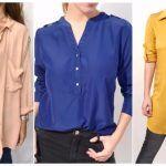 Camisas para mujer Ridka otoño invierno 2017