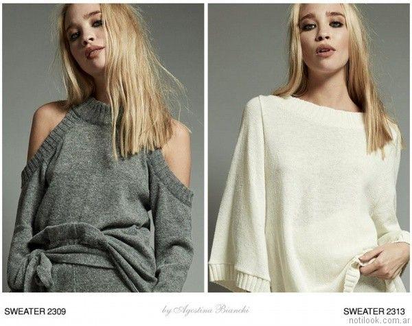sweater mujer Agostina Bianchi invierno 2017