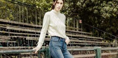 sweater mujer mujer Levis invierno 2017