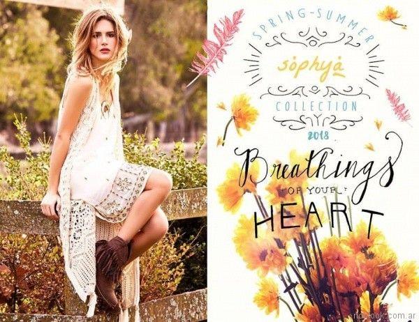 Chaleco tejido a crochet verano 2018 Sophya