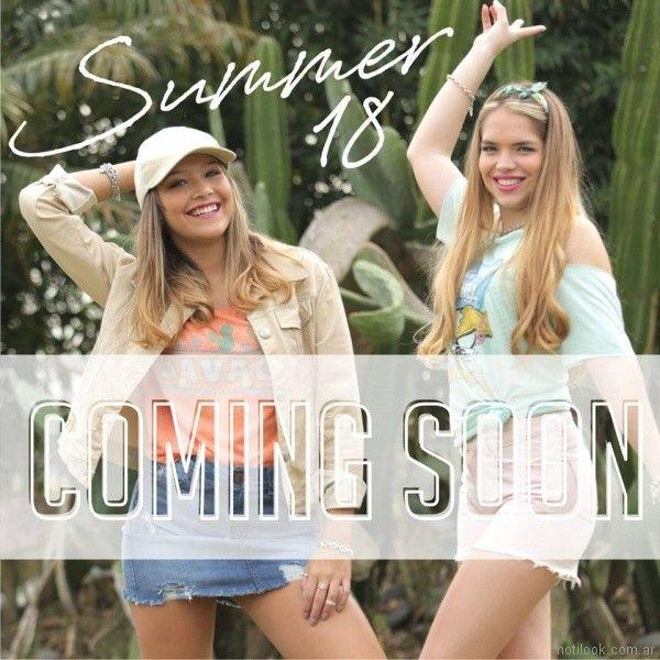 Doll Fins - moda para teenager verano 2018