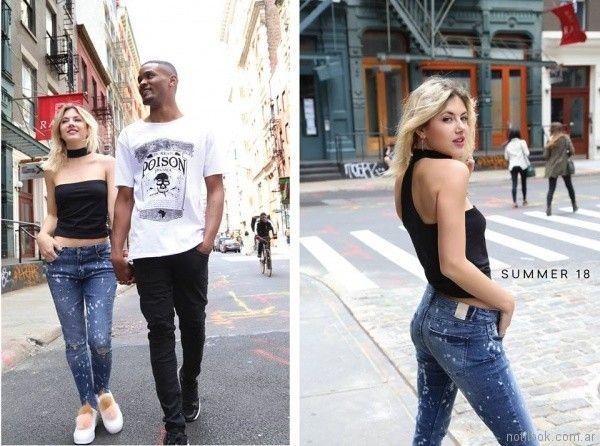 Prussia jeans ajustados primavera verano 2018