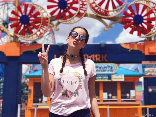 TAMARA CORTON - look teenager casual verano 2018