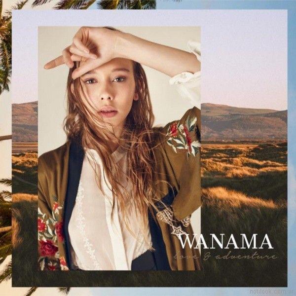anticipo Wamana verano 2018 - camisa y kimono