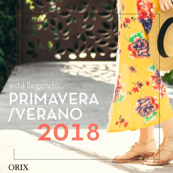 anticipo coleccion orix verano 2018