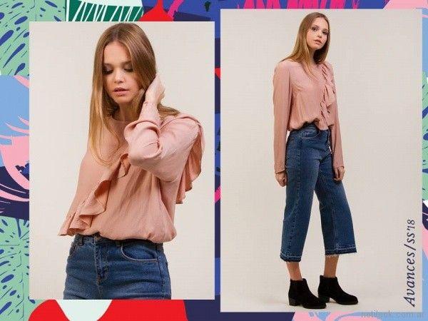 camisola y jeans corts primavera verano 2018 Daniel Cassin