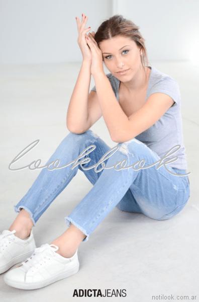 jeans boyfriends Adicta jeans invierno 2017