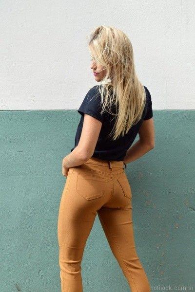 jeans de colores Dorcastar otoño invierno 2017