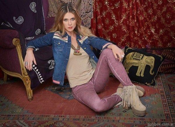 jeans de colores Mov Jeans invierno 2017