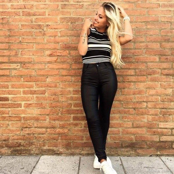 jeans engomados Dorcastar otoño invierno 2017