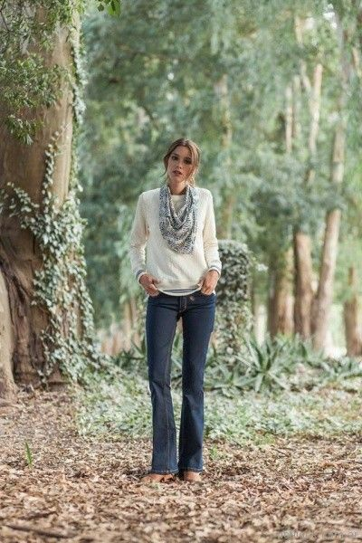 jeans oxford Mistral mujer invierno 2017