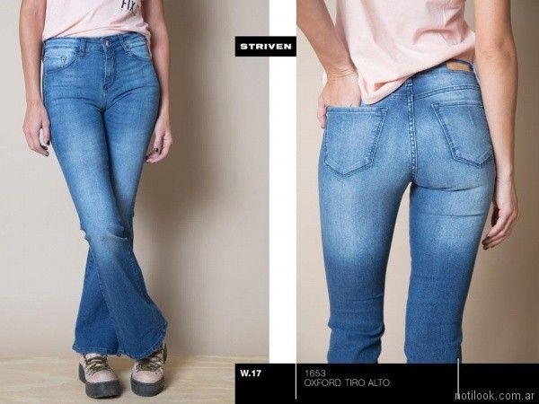 jeans tiro medio oxford Striven Jeans invierno 2017
