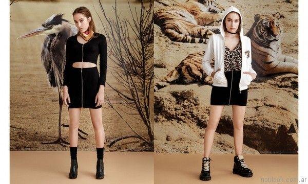 moda para la noche juvenil Rie invierno 2017
