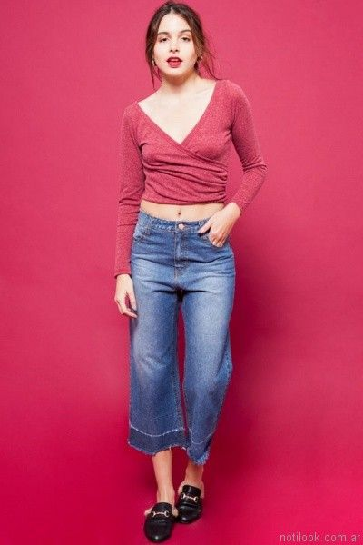 pant cort For me Jeans otoño invierno 2017