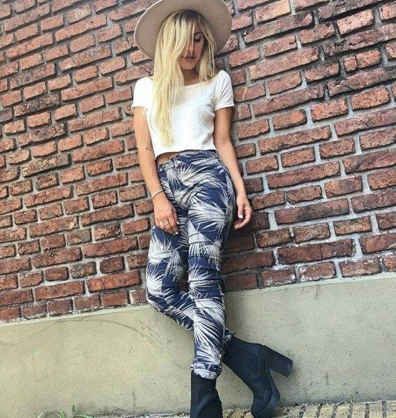 pantalones estampados Dorcastar otoño invierno 2017