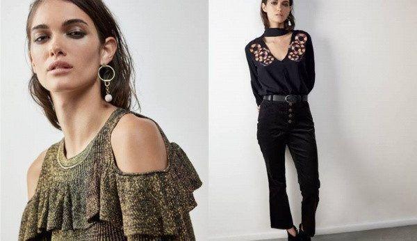 remera de lanilla y blusa escote en v Ay Not Dead invierno 2017