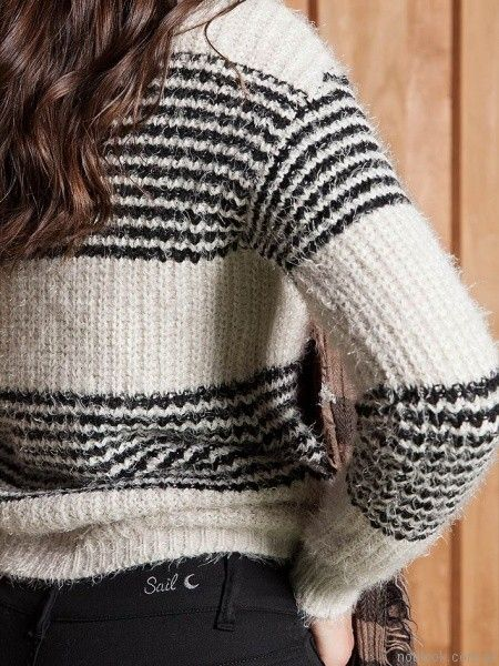 sweater de lana Sail otoño invierno 2017