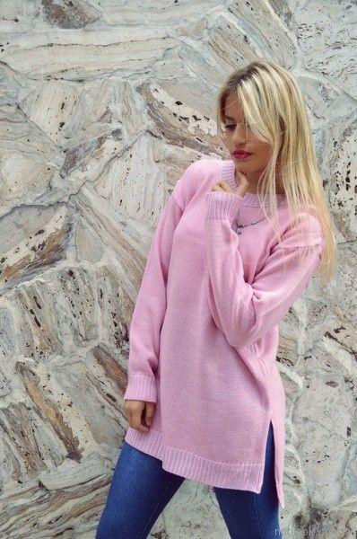 sweater largo tejido Dorcastar otoño invierno 2017