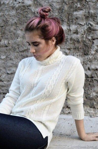sweater polera de lana Dorcastar otoño invierno 2017