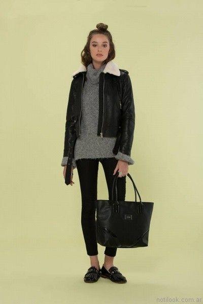 sweater polera de lana inversa otoño invierno 2017