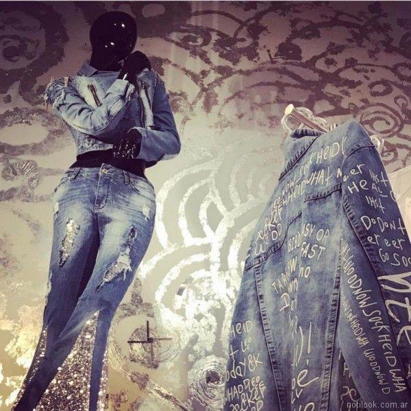 Rosh - jeans bordado verano 2018