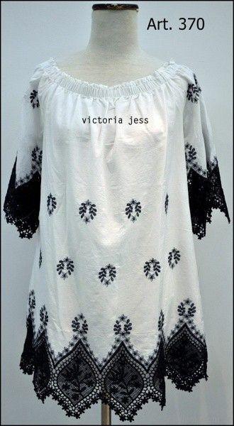 blusas con apliques de encaje Reina Ana Primavera verano 2018