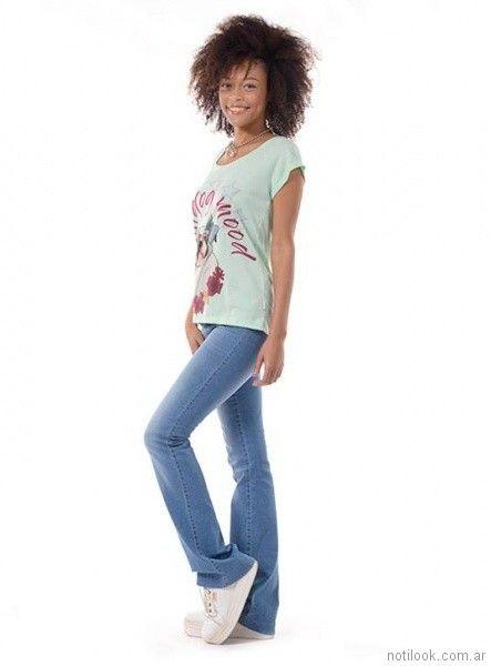 look casual con jeans Minnakazzira Jeans primavera verano 2018