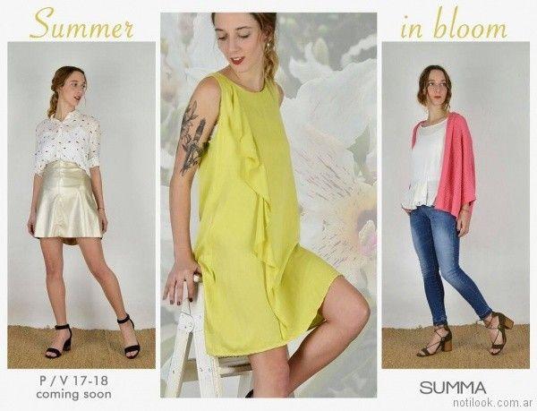 look primavera verano 2018 SUMMA