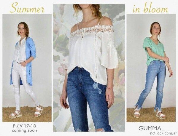 outfits urbanos primaverales primavera verano 2018 SUMMA