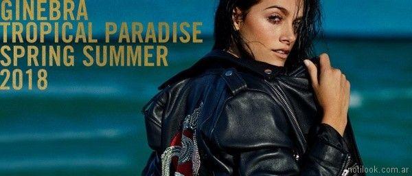 Campaña ropa Ginebra primavera verano 2018 Oriana Sabatini