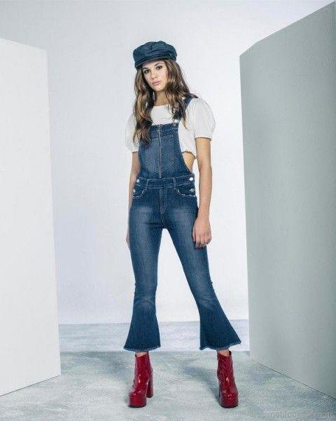 Jardinero largo de jeans verano 2018 - 47 Street