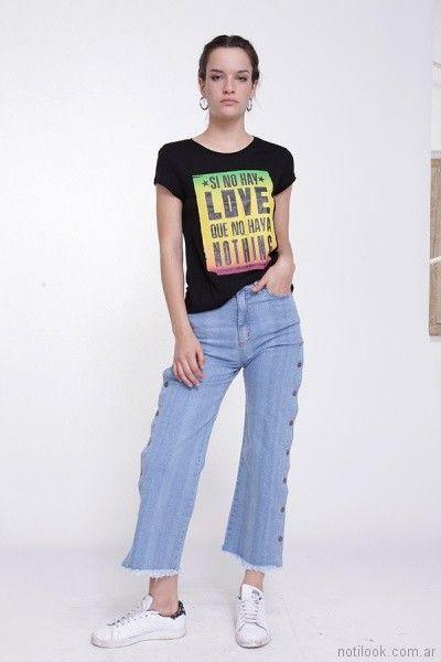 Jeans claro verano 2018 - Ona Saez