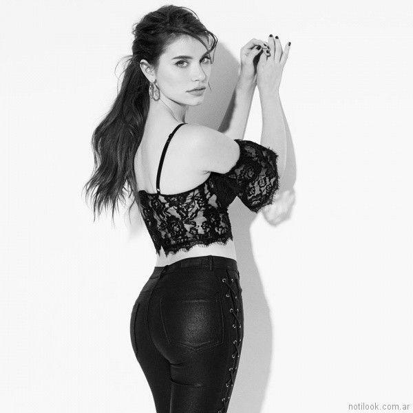 Jeans engomados verano 2018 - Ona Saez