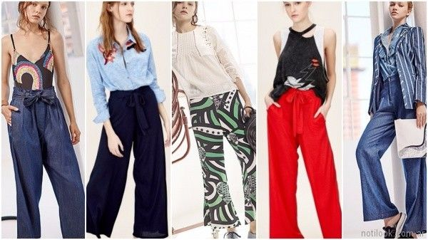 Look casual chic en pantalones primavera verano 2018 - Jazmin Chebar
