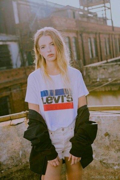 Short de jeans Levis verano 2018